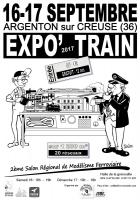 Affiche a4 expo train 2017