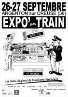 Affiche expo'train 2015
