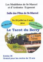 Affiche exposition Saint Marcel 2014