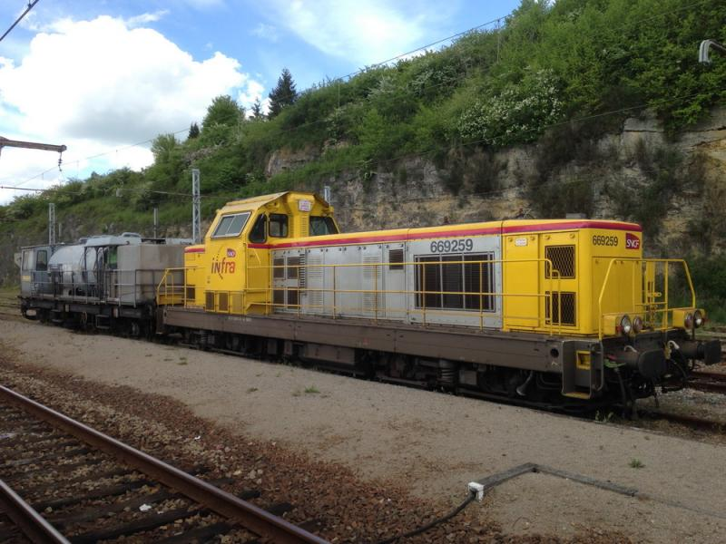 En gare d'Argenton sur Creuse (36)